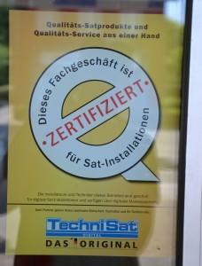 Zertifikat Technisat